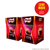 Capsulas-de-Cafe-Pilao-Espresso-Supremo-52g--50--de-desconto-na-2ª-und-