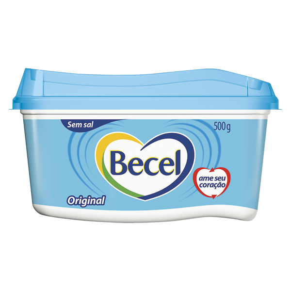 Creme Vegetal Becel Original Sem Sal 500 G