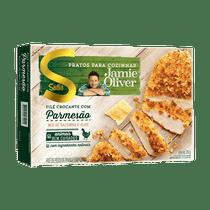 File-de-Frango-Crocante-Sadia-Jamie-Oliver-Parmesao-com-Mix-de-Salsinha-e-Alho-350g