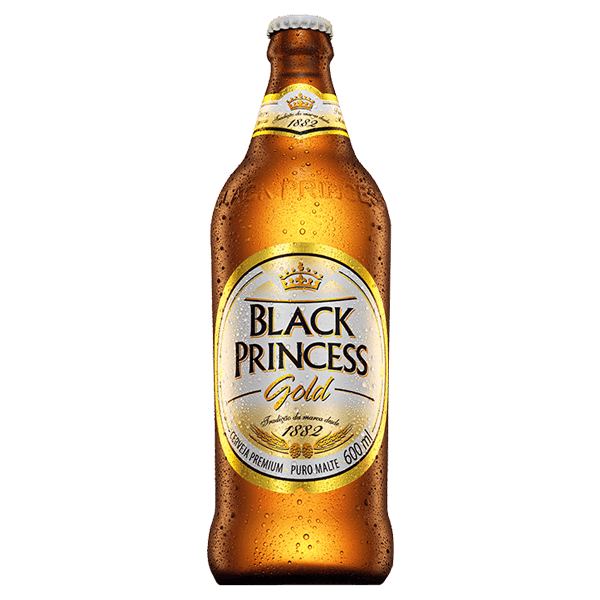 Cerveja Black Princess Gold 600ml - superprix 02293cda1b