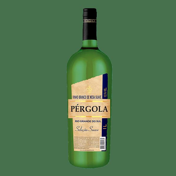 1eb1caf91 Vinho Brasileiro Pérgola Branco Suave 1l - superprix