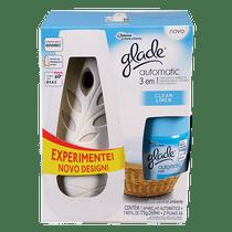Odorizador-Glade-Automatic-3-em-1-Clean-Linen--Aparelho---Refil-