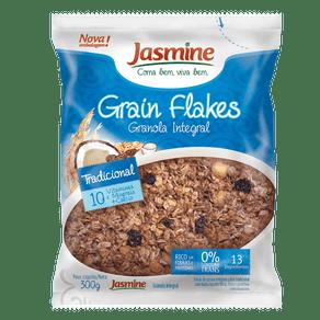 Granola-Integral-Jasmine-Grain-Flakes-Tradicional-300g