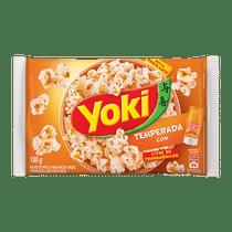 Milho-de-Pipoca-para-Micro-ondas-Yoki-Temperada-Toque-de-Chef-100g