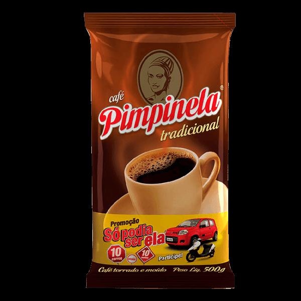 Café Torrado e Moído Pimpinela Tradicional 500g - superprix