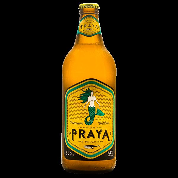 Muitas vezes Cerveja Praya Premium Witbier 600ml - superprix QU05