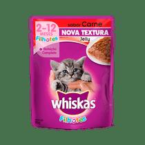 Racao-Whiskas-Filhotes-Pedacos-de-Carne-ao-Molho-Carne-85g