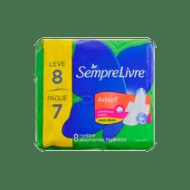 Absorvente-Higienico-Sempre-Livre-Adapt-Suave-com-Abas-Leve-8-e-Pague-7