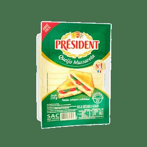 Queijo-Mussarela-President-Fatiado-150g