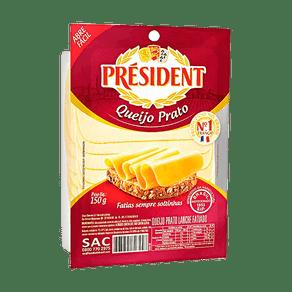 Queijo-Prato-President-Fatiado-150g