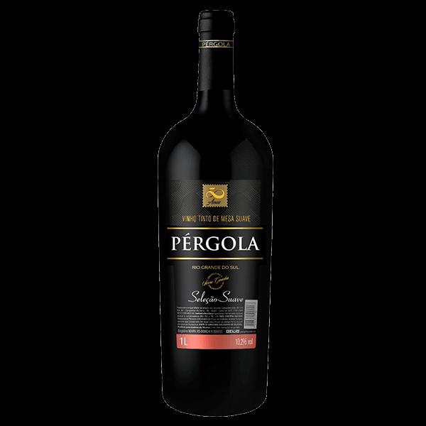 cde3bc675 Vinho Brasileiro Pérgola Tinto Suave 1l - superprix