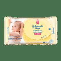 Lencos-Umedecidos-Johnson-s-Baby-Recem-Nascido-c-48-unidades