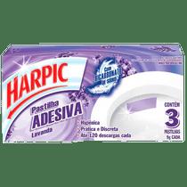 Detergente-Sanitario-Harpic-Pastilha-Adesiva-Lavanda-9g