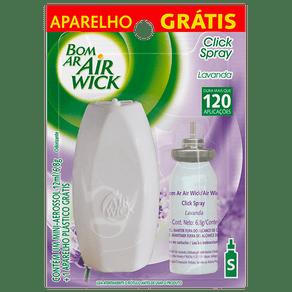 Odorizador-Bom-Ar-Click-Spray-Lavanda-12ml---Gratis-Aparelho