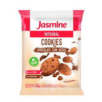 Cookies-Jasmine-Integral-Chocolate-com-Gotas-150g