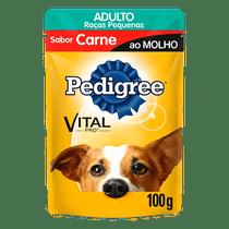 Racao-Pedigree-Adulto-Racas-Pequenas-Carne-100g