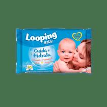 Toalha-Umedecida-Looping-Baby-Camomila-50-unid---frente