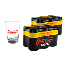 2-Packs-de-Refrigerante-Coca-Cola-zero-acucar-350ml-c-6-un-Gratis-1-Copo-Exclusivo