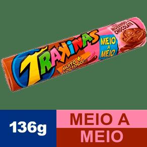Biscoito-TRAKINAS-Meio-Chocolate-e-Meio-Morango-136g-Site-SuperPrix