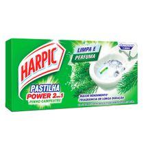 Sanitizante-Harpic-Pastilha-Adesiva-Pinho-2-em-1-9g