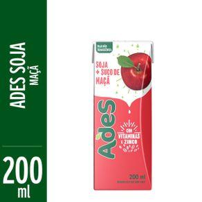 Alimento com Soja Ades Maçã 200ml