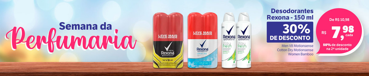 Desodorantes Rexona / Raid