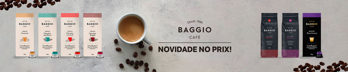 50% na 2° unidade / Café Baggio