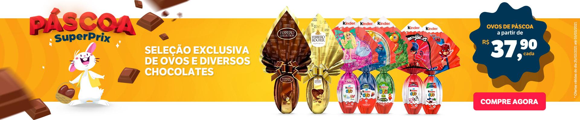 LANCHES FRESQUINHOS / Páscoa