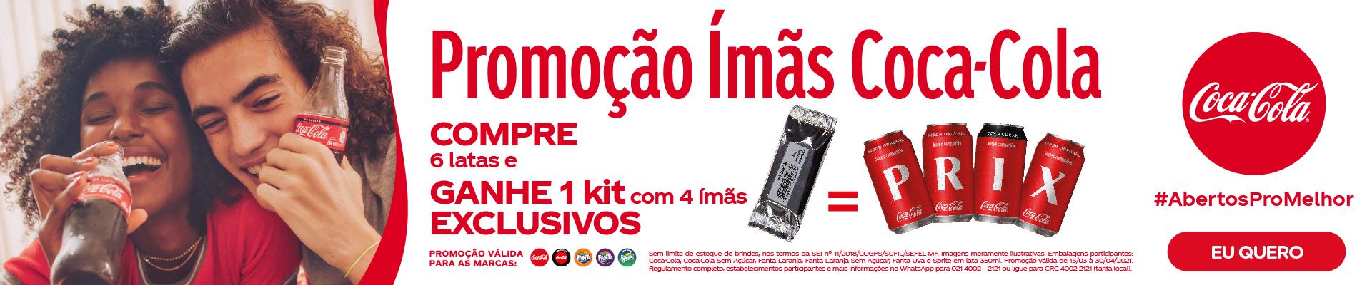 Coca Cola / Leve + por -
