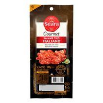Salame-Italiano-Seara-Gourmet-Fatiado-100g
