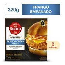 Hamburguer-Seara-Frango-Crispy-Gourmet-400g