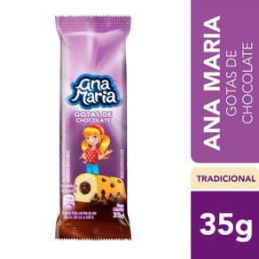 Bolinho Ana Maria Gotas Chocolate 35g