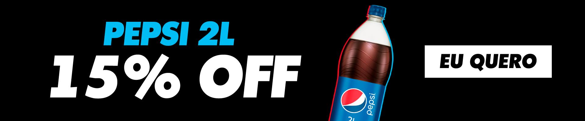 Pepsi 2L - 24/6 a 30/6