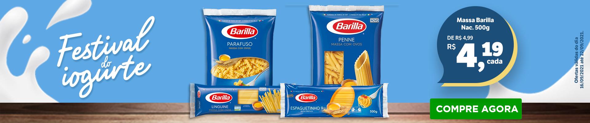 Barilla - 16 a 22 set